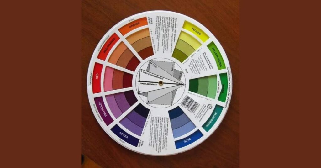 Color Wheel Back For Color Analysis Image Consulting Business Starter Kit Tools Pack